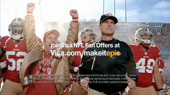VISA NFL Fan Offers TV Spot Featuring Jim Harbaugh - Thumbnail 2