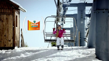 DayQuil Cold and Flu TV Spot, 'Ski Lift' - Thumbnail 3
