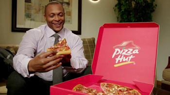 Pizza Hut TV Spot, Featuring Eddie George