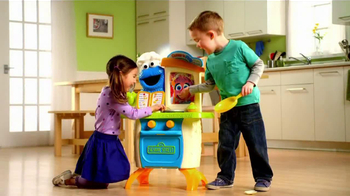 Playskool Cookie Monster Kitchen Cafe TV Spot - 210 commercial airings