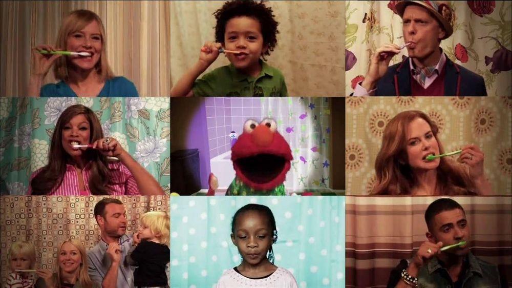 2min2x TV Commercial 'Brushy, Brush' Featuring Elmo, Nicole Kidman