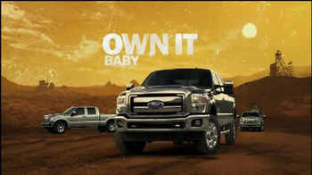 2013 Ford Super Duty TV Spot, 'Own It' Featuring Dennis Leary - 283 commercial airings