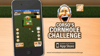 The Home Depot Corso's Cornhole Challenge TV Spot, 'Be the Coach' - Thumbnail 6