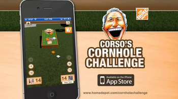 The Home Depot Corso's Cornhole Challenge TV Spot, 'Be the Coach' - Thumbnail 5