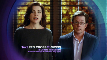 CBS Cares TV Spot Featuring Julianna Margulies and Michael J. Fox - 21 commercial airings