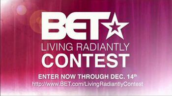 BET Living Radiantly Contest TV Spot - Thumbnail 10