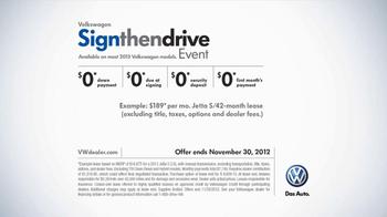 Volkswagen Sign Then Drive TV Spot, 'Shooting Star' - Thumbnail 10
