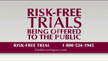 Keranique TV Spot \'Risk Free Trials\'
