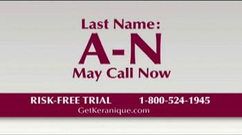 Keranique TV Spot 'Risk Free Trials' - Thumbnail 4