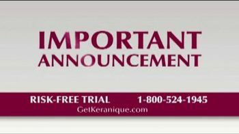 Keranique TV Spot 'Risk Free Trials' - Thumbnail 6