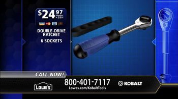 Kobalt Double Drive Ratchet TV Spot, 'Innovation Center' - Thumbnail 10