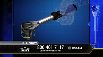 Kobalt Double Drive Ratchet TV Spot, 'Innovation Center' - Thumbnail 8