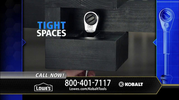 Kobalt Double Drive Ratchet TV Spot, 'Innovation Center' - Thumbnail 9