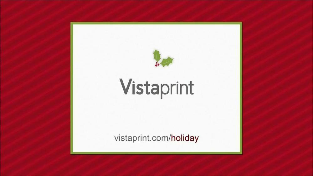 Vistaprint TV Commercial, \'Holiday\' - iSpot.tv