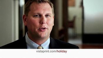 Vistaprint TV Spot, 'Holiday' - Thumbnail 6