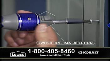 Kobalt Double Drive Screwdriver TV Spot  - Thumbnail 8
