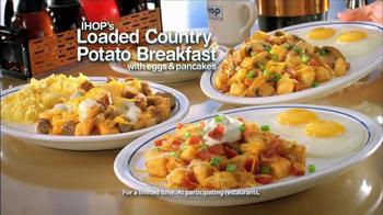 IHOP Loaded Country Potato Breakfast TV Spot, 'Love Breakfast' - Thumbnail 2
