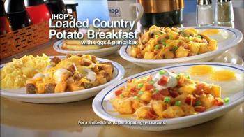 IHOP Loaded Country Potato Breakfast TV Spot, 'Love Breakfast'