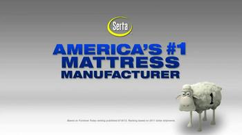Serta Biggest Mattress Savings of the Year TV Spot, 'Free Box Spring' - Thumbnail 2