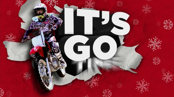 Honda Powersports CRF TV Spot, \'Gifts that Go\'