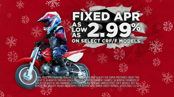 Honda Powersports CRF TV Spot, 'Gifts that Go' - Thumbnail 4
