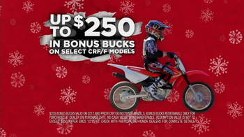 Honda Powersports CRF TV Spot, 'Gifts that Go' - Thumbnail 6