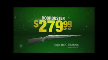 Cabela's After Thanksgivinig Sale TV Spot, 'Ruger Takedown' - Thumbnail 5