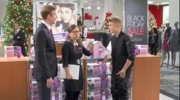 Macy's Black Friday TV Spot Featuring Justin Bieber - Thumbnail 2