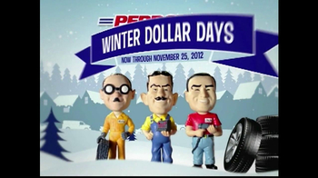PepBoys Winter Dollar Days TV Spot, 'Tires' - Thumbnail 2