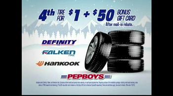 PepBoys Winter Dollar Days TV Spot, 'Tires' - Thumbnail 5