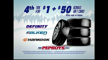 PepBoys Winter Dollar Days TV Spot, 'Tires' - Thumbnail 6