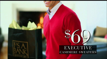 JoS. A. Bank Black Friday TV Spot, 'Executive Cashmere Sweaters' - 36 commercial airings