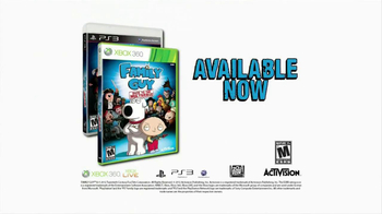 Family Guy: Back to the Multiverse Video Game TV Spot, 'Bad Guy' - Thumbnail 9