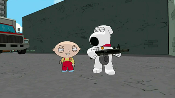 Family Guy: Back to the Multiverse Video Game TV Spot, 'Bad Guy' - Thumbnail 8