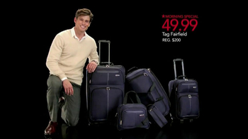 Macy's Black Friday Sale TV Spot, 'Cashmere, Earrings and Luggage' Song by Sam Johnson - Thumbnail 8