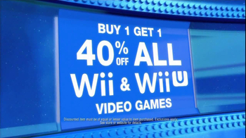 Toys R Us Update TV Spot, 'Wii and Wii U Games'