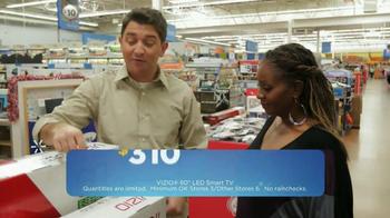 Walmart Black Friday TV Spot, 'VIZIO 60-Inch TV' - Thumbnail 4