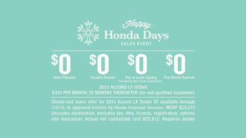 2013 Honda Accord TV Spot, 'Dear Honda: Dad' - Thumbnail 10