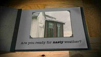 Tuff Shed TV Spot, 'Nasty Weather'
