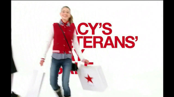 Macy's Veterans Day Sale TV Spot  - 201 commercial airings