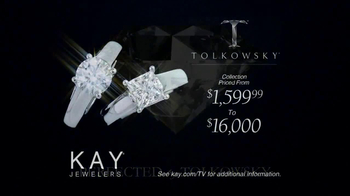 Kay Jewelers Tolkowsky Ideal Cut Diamond TV Spot, 'From Our Family to Yours' - Thumbnail 6