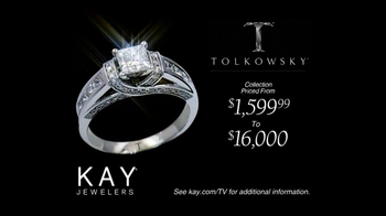 Kay Jewelers Tolkowsky Ideal Cut Diamond TV Spot, 'From Our Family to Yours' - Thumbnail 7