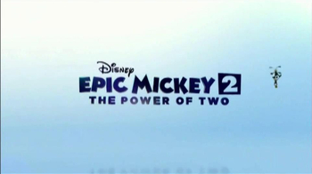 Epic Mickey 2 Power of Two TV Spot