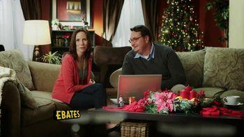Ebates Cashback TV Spot, 'Christmas Shopping'