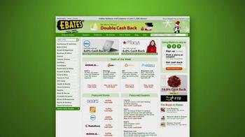 Ebates Cashback TV Spot, 'Christmas Shopping'  - Thumbnail 3