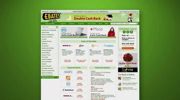 Ebates Cashback TV Spot, 'Christmas Shopping'  - Thumbnail 4