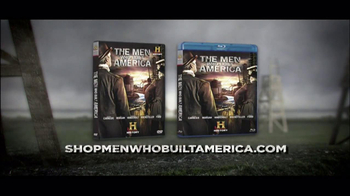 The Men Who Built America Blu-Ray and DVD TV Spot  - 31 commercial airings