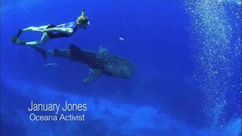 Oceana TV Spot, 'Whale Sharks' Featuring January Jones