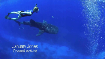 Oceana TV Spot, 'Whale Sharks' Featuring January Jones