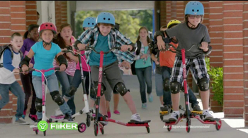 Yvolution Fliker Scooters TV Spot